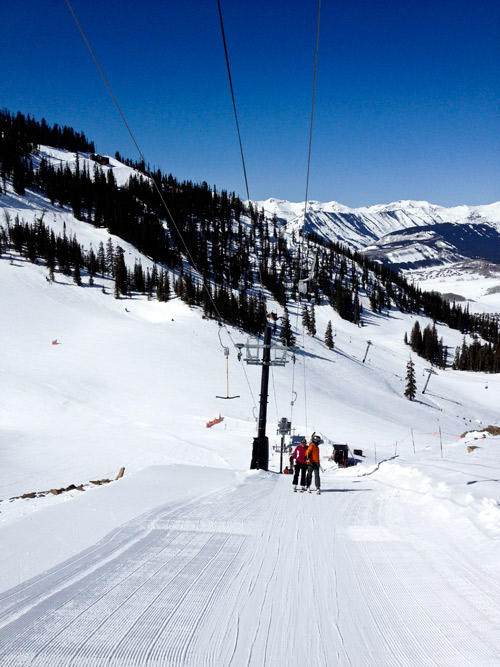 Correct way to Ride the T-bar